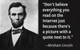 Abe knows best