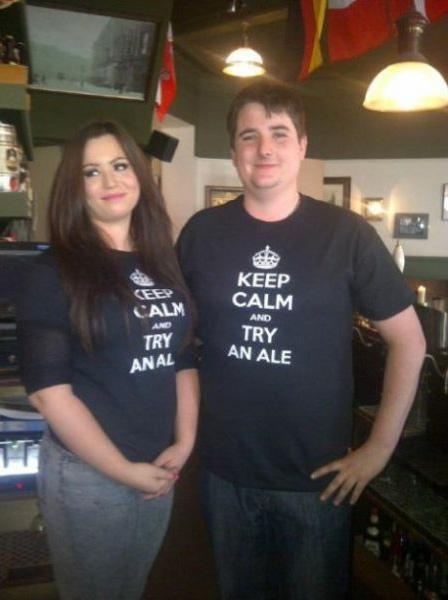 His and hers T shirts