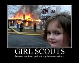 girl scout cookies funny picture